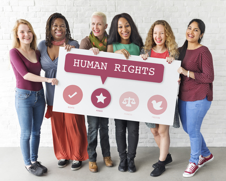 feminism: Women Rights Equality Opportunities Fairness Feminism Concept