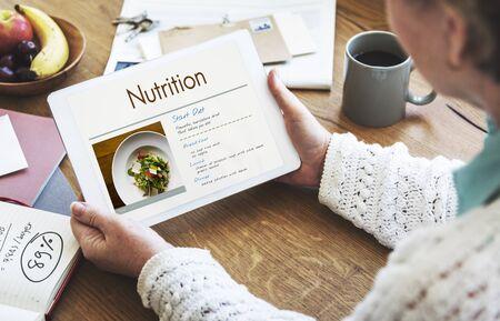 Dieet Plan Healthy Living Concept