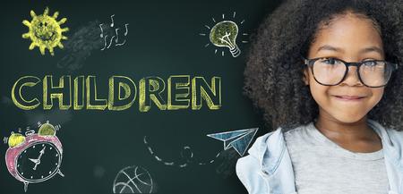 研究のアイデアは子供の概念を学ぶ 写真素材