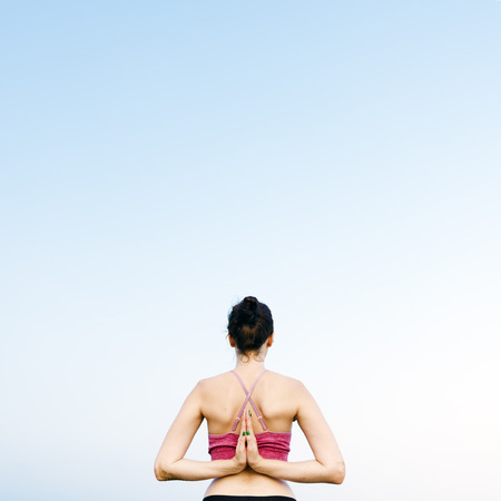 reversing: Yoga Meditation Concentration Peaceful Serene Relaxation Concept
