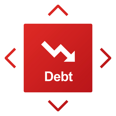 downfall: Debt Ridk Difficulty Downfall Concept
