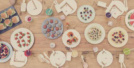 kinfolk: Food Party Celebration Table Setting Concept