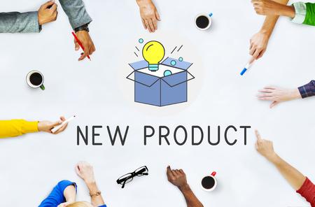 New Product Development Succes Concept Stockfoto