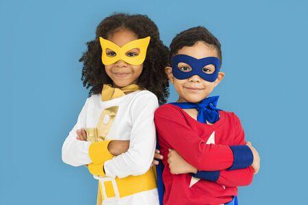 adolescencia: Superhéroe Concepto Experto adolescencia cabrito del niño