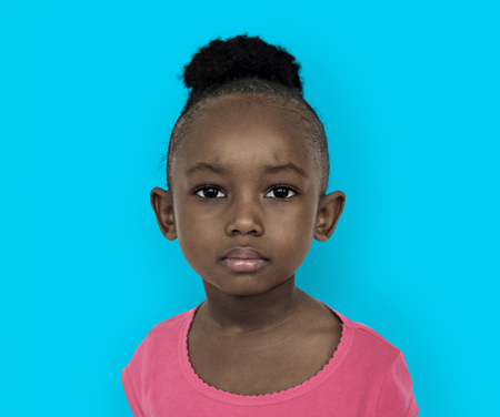 Portrait of an African American girl Stockfoto