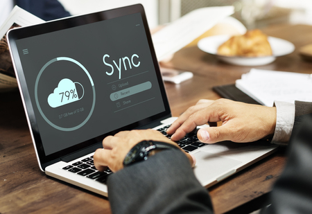 Laptop with sync concept