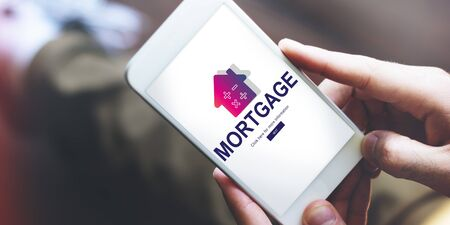 smart investing: Loan Mortgage Payment Property Concept