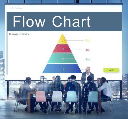 jerarquia: Hierarchy Organization Structure Position Chart Concept