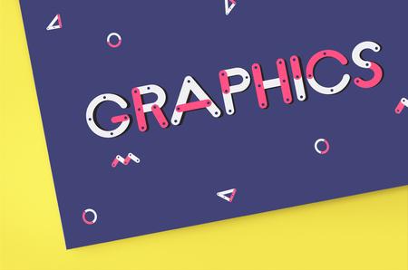 Graphics concept Zdjęcie Seryjne
