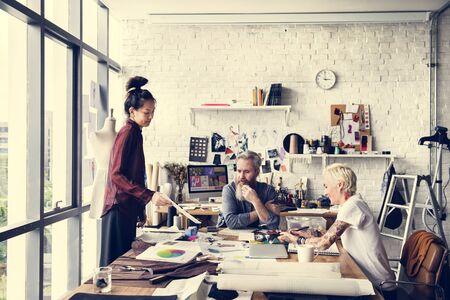 Creative Design Robe Tendance Mode élégant Concept