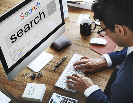 Search Engine Optimization Research Infomation Technology Concept