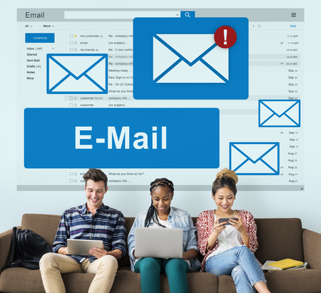 socialise: Mail Communication Connection Online Concept