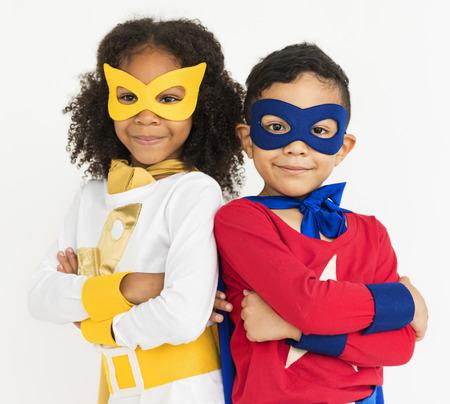 unafraid: Superhero Kid Bold Brave Female Idol Concept
