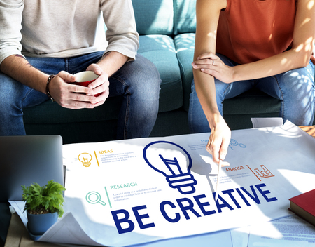 People with creativity concept