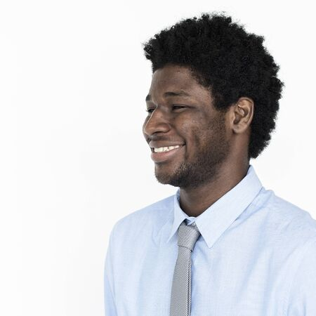 african business: African American Man Business Confident Concept Stock Photo