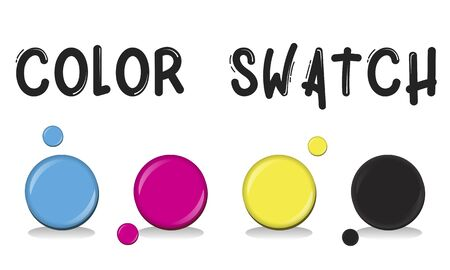 swatch: Color Swatch Design Style Concept Stock Photo