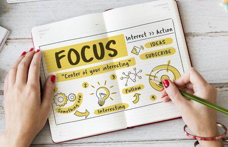 concentration: Focus Concentration Goals Target Determine Concept