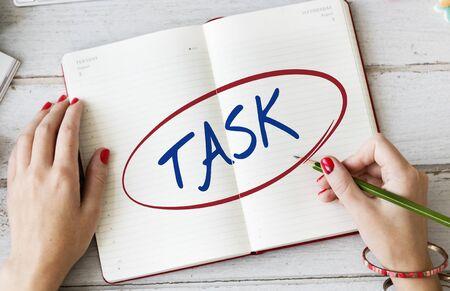 important: Task Focus Important Urgent Urgency Important Concept Stock Photo
