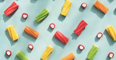 jello: Candy Color Dessert Jello Sugary Tasty Sweet Concept