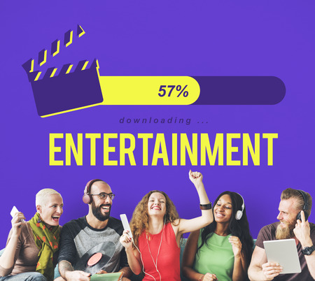 computer animation: Entertainment Multimedia Theatre Movies Concept