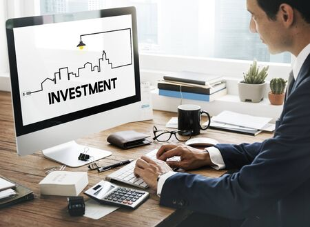 valued: Real Estate Property and Investment Concept Stock Photo