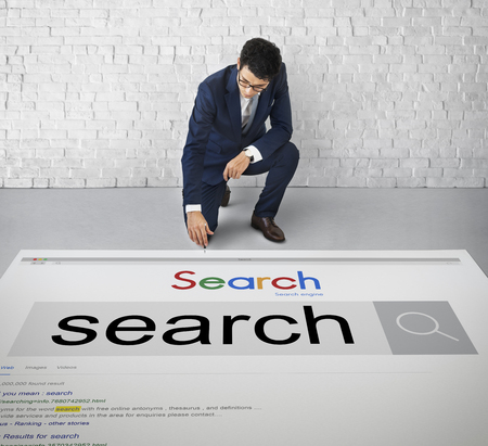 search engine optimization: Search Engine Optimization Research Infomation Technology Concept
