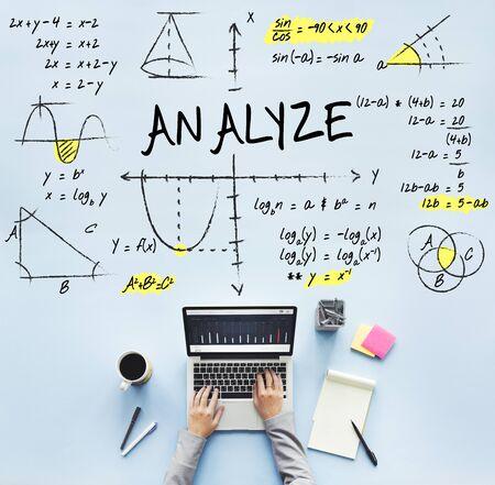Methematics Math Algebra Calculus Numbers Concept Stock Photo ...