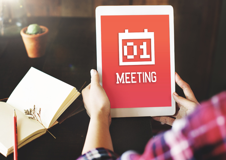 adjournment: Calendar Appointment Meeting Reminder Events Concept