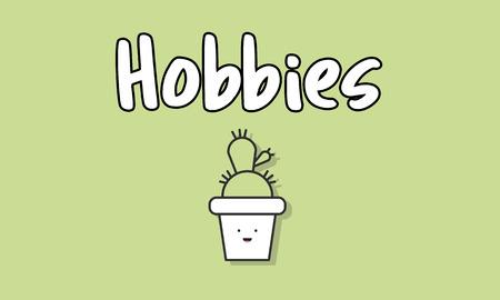Hobbies concept