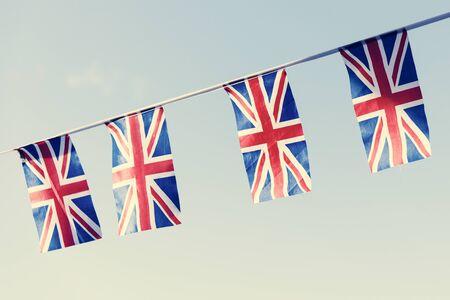 british culture: British Flag National Sign Concept