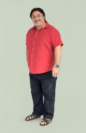 cuerpo completo: People Man Full Body Studio Shoot Concept