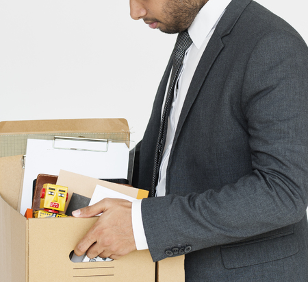 Man with a box