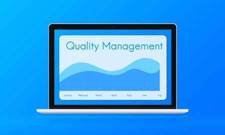 trustworthy: Quality Assurance Guarantee Warranty Trustworthy Concept