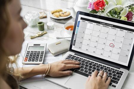 Planner Calendar Schedule Date Concept