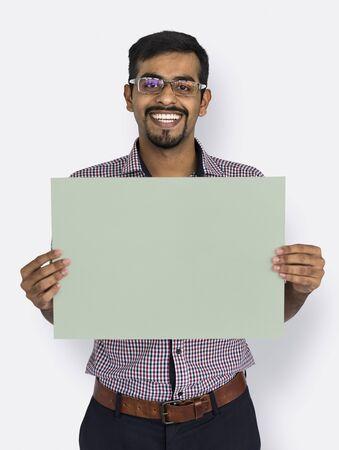 Studio Shoot People Portrait Concept Stock Photo