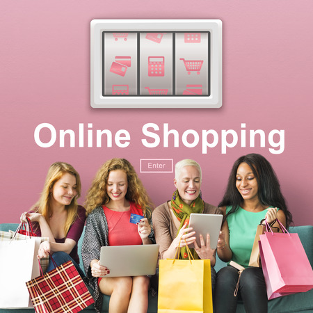 Add to Cart Online Shopping Order Store Buy Concept Stok Fotoğraf - 68764025