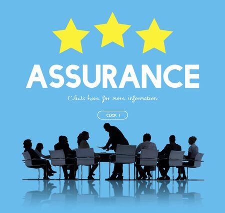 Quality Management Guarantee Assurance Concept Stock Photo