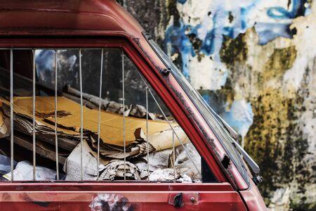wasteland: Demolition Junkyard Wasteland Trash Rusty Abstract Concept