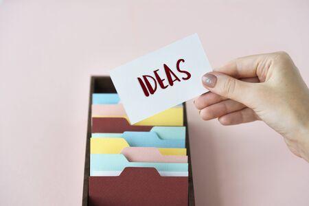 categorize: Innovation Ideas Creative Design Concept