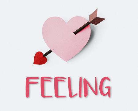 afecto: El afecto amor por vosotros, acaricia ternura Concept