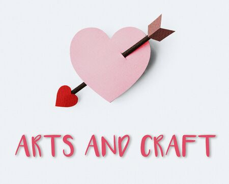 eros: Proposal Passion Fondness Endearment Cupid Concept Stock Photo