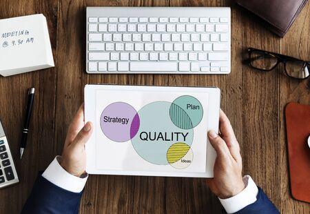 increase: Improve Increase Qulity Goals Concept