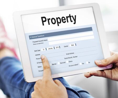 apartment search: Property Release Claim Form Concept