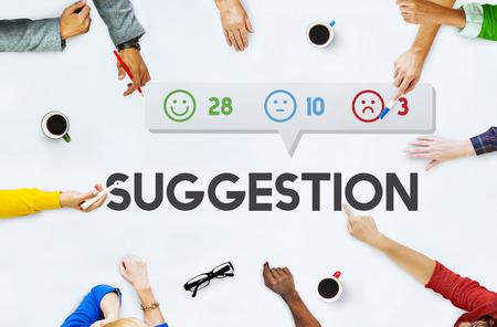 Customer Feedback Emoticons Concept Stock Photo