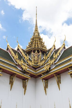 Thai Style Buddhist Temple Concept