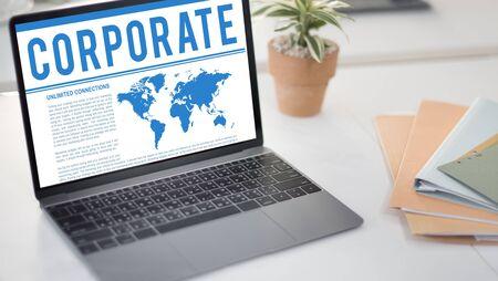 merchandise: Global Business Corporate B2B Merchandise Concept