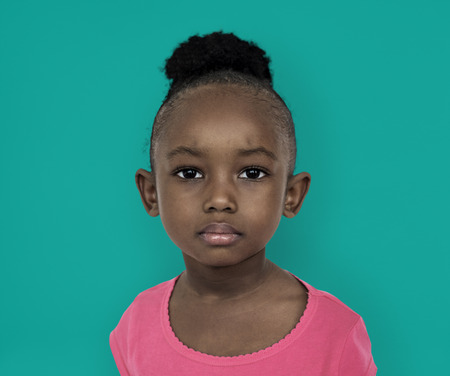 Little girl with an expression