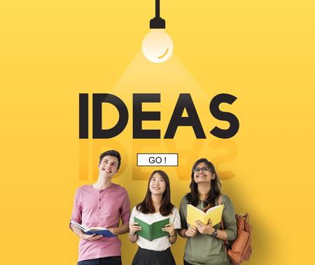 Idea Immaginazione Ispirazione Concetto di creatività