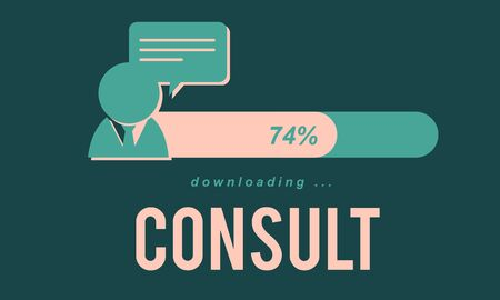advise: Consult Advise Sharing Strategy Planning Concept