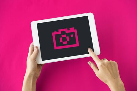Gadget Application Technology Icon Concept Stock Photo